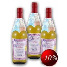 Abisinthe Amer Triple Pack 72% 70cl