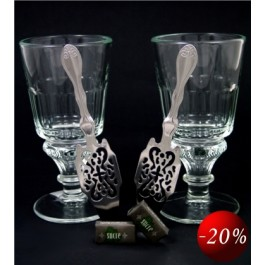 Absinthe Glass Set - Pontarlier II