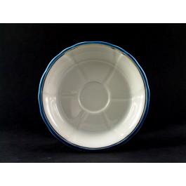 Glasuntersetzer blau